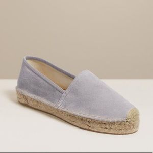 Jack Rogers Riley Suede Espadrilles New In Box